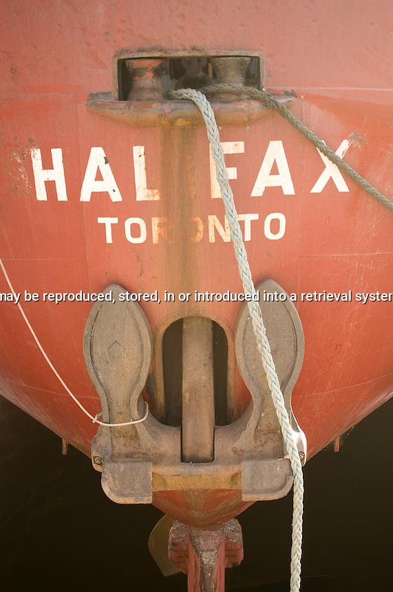 Stern of the Ship Halifax