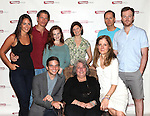 Jenny Dare Paulin, Alexander Cendese, Andrea Lynn Green, Mary Bacon, Devon Abner, Jeremy Bobb, (F) Evan Jonigkeit, Jayne Houdyshell and Hallie Foote .attending the Meet & Greet for the Primary Stages Production of 'Harrison, TX:Three Plays by Horton Foote' at their Rehearsal Studios in New York City on 7/11/2012.