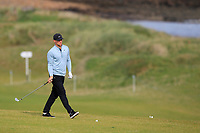 Alex Noren (SWE) on the 4th during Round 2 of the Alfred Dunhill Links Championship 2019 at Kingbarns Golf CLub, Fife, Scotland. 27/09/2019.<br /> Picture Thos Caffrey / Golffile.ie<br /> <br /> All photo usage must carry mandatory copyright credit (© Golffile | Thos Caffrey)