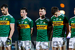 Paul Murphy Tom O'Sullivan Sean O'Shea Kerry players before the Allianz Football League Division 1 Round 3 match between Kerry and Dublin at Austin Stack Park in Tralee, Kerry on Saturday night.
