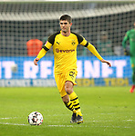 16.03.2019, OLympiastadion, Berlin, GER, DFL, 1.FBL, Hertha BSC VS. Borussia Dortmund, <br /> DFL  regulations prohibit any use of photographs as image sequences and/or quasi-video<br /> <br /> im Bild Christian Pulisic (Borussia Dortmund #22)<br /> <br />       <br /> Foto © nordphoto / Engler