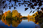 Lake LaVerne on the campus of Iowa State University in Ames, Iowa. (Christopher Gannon/Gannon Visuals)