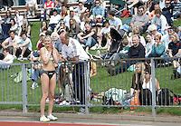 20 MAY 2007 - LOUGHBOROUGH, UK - Stephanie Pywell (LOU) - 3000m Steeplechase - Loughborough International Athletics. (PHOTO (C) NIGEL FARROW)