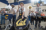 BERKELEY, CA - DECEMBER 04:  The University of California at Berkeley band performs during the Division I Men's Water Polo Championship held at the Spieker Aquatics Complex on December 04, 2016 in Berkeley, California.  Cal defeated USC 11-8 for the national title. (Photo by Justin Tafoya/NCAA Photos via Getty Images)