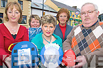 LIFESAVING: Members of the Glenbeigh - Glencar First Responder Programme with some of their lifesaving equipment, l-r: Mary O'Sullivan, Nuala O'Connor, Sheila McGillycuddy, Margaret Breen, Martin Griffin.