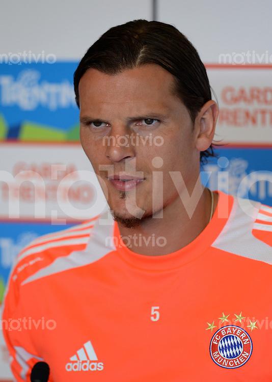 Fussball 1. Bundesliga:  Saison  Vorbereitung 2012/2013     Trainingslager des FC Bayern Muenchen 19.07.2012 Daniel van Buyten