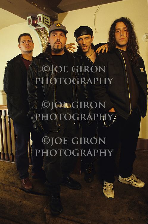 Portraits of the band, Biohazard.
