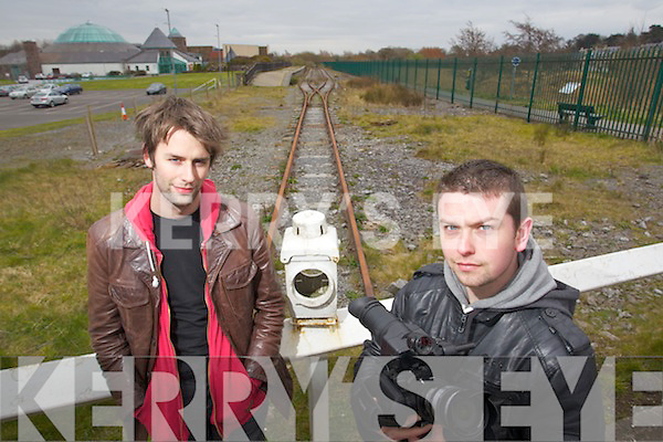 "Patrick Ryan and Tommy Fitzgerald who are filming a western in Kerry this summer called ""Darkness on the Edge of Town"""
