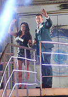 Lee Ryan, Casey Batchelor at Celebrity Big Brother 2014 - Contestants Enter The House, Borehamwood. 03/01/2014 Picture by: Henry Harris / Featureflash