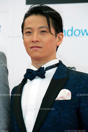 Ryuichi Ogata (w-inds), June 14, 2014 : MTV VMAJ (Video Music Awards Japan 2014 at Maihama Amphitheater in Chiba, Japan. (Photo by Rodrigo Reyes Marin/AFLO)