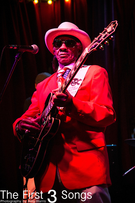 Little Freddie King performs at d.b.a. in New Orleans, LA.