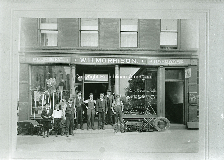 W. H. Morrison building, built in 1896, located on Water Street in Torrington