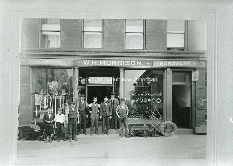 W. H. Morrison building, built in 1896, located on Water Street in Torrington