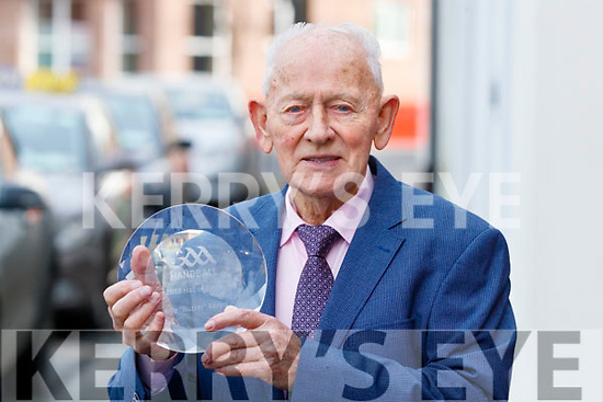 Billy Kerins who was presented with a Handball All Stars Hall of Fame Award.