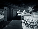 Arizona Veterans' Memorial Cemetery - Camp Navajo  (Infrared) ©2019 James D Peterson.