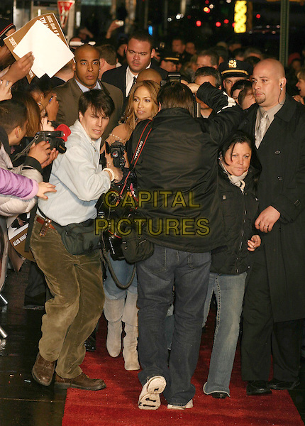 "JENNIFER LOPEZ.In Store Appearance for Her New Album ""Rebirth"" at Virgin Megastore, New York City, New York, USA,.March 1st 2005..full length crowd security bodyguards fans j.lo.Ref: IW.www.capitalpictures.com.sales@capitalpictures.com.©Capital Pictures."