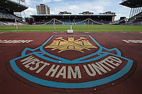 General view of Boleyn Ground during the Betway Cup match between West Ham United and Werder Bremen at the Boleyn Ground, London, England on 2 August 2015. Photo by Andy Rowland.
