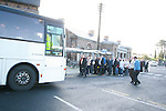 Commuters are ushered onto buses at Drogheda Train Station due to the Collapsed Bridge at Malahide...Photo NEWSFILE/Jenny Matthews.(Photo credit should read Jenny Matthews/NEWSFILE)....This Picture has been sent you under the condtions enclosed by:.Newsfile Ltd..The Studio,.Millmount Abbey,.Drogheda,.Co Meath..Ireland..Tel: +353(0)41-9871240.Fax: +353(0)41-9871260.GSM: +353(0)86-2500958.email: pictures@newsfile.ie.www.newsfile.ie.FTP: 193.120.102.198.