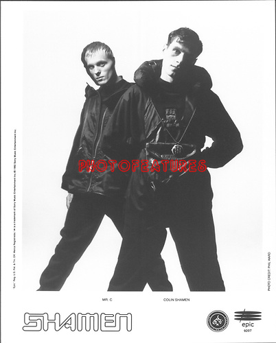 Shamen 1992..photo from promoarchive.com/ Photofeatures....