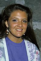 Martine Chevrier, circa 1986<br /> Photo : (c)by Pierre Roussel / Images Distribution