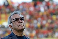 il presidente Oreste Vigorito durante la FinalePlayoff di Serie A   Benevento Carpi  allo  Stadio Vigorito  di Benevento , 08 giugno 2017