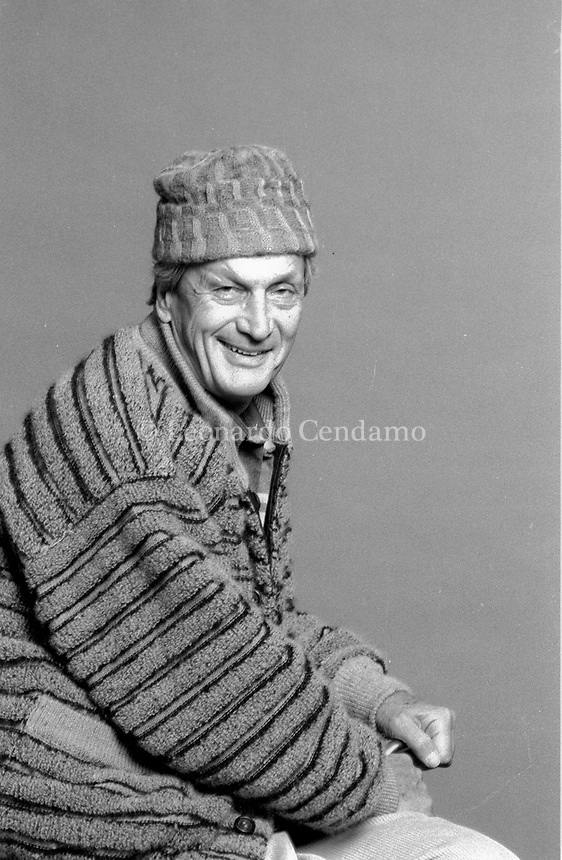 "Ottavio ""Tai"" Missoni (11 February 1921 – 9 May 2013) was the founder of the Italian fashion label Missoni and an Italian Olympic hurdler who competed in the 1948 Summer Olympics. © Leonardo Cendamo"