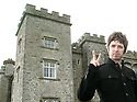 Noel Gallagher pose for the press outside Slane Castle, after it was announced that Oasis will be playing there Saturday June 20th, 2009. (Subject to License). Photo/Paul McErlane