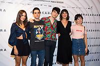 Macarena Garcia, Javier Ambrossi, Javier Calvo, Belen Cuesta and Anna Castillo