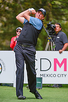 Phil Mickelson (USA) watches his tee shot on 8 during round 3 of the World Golf Championships, Mexico, Club De Golf Chapultepec, Mexico City, Mexico. 3/4/2017.<br /> Picture: Golffile | Ken Murray<br /> <br /> <br /> All photo usage must carry mandatory copyright credit (&copy; Golffile | Ken Murray)