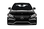 Car photography straight front view of a 2019 Mercedes Benz C-CLass 63-AMG 4 Door Sedan Front View