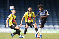 Jordan Green, Southend United, nods the ball inside during Southend United vs Harrogate Town, Sky Bet EFL League 2 Football at Roots Hall on 12th September 2020