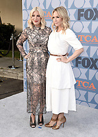 BEVERLY HILLS - AUGUST 7: Tori Spelling and Jennie Garth attend the FOX 2019 Summer TCA All-Star Party on New York Street on the FOX Studios lot on August 7, 2019 in Los Angeles, California. (Photo by Scott Kirkland/FOX/PictureGroup)