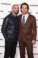 "director, Yann Demange and Matthew McConaughey<br /> arriving for the ""White Boy Rick"" screening at the Picturehouse Central, London<br /> <br /> ©Ash Knotek  D3462  27/11/2018"