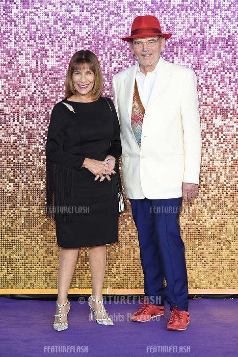 LONDON, UK. October 23, 2018: Kashmira Bulsara &amp; Jim Beach at the world premiere of &quot;Bohemian Rhapsody&quot; at Wembley Arena, London.<br /> Picture: Steve Vas/Featureflash