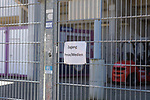 22.03.2020, Stadion an der Bremer Brücke, Osnabrück, Rund um das Stadion an der Bremer Brücke<br /> <br /> <br /> im Bild<br /> Eingang Presse/Medien. Feature / Symbol / Symbolfoto / charakteristisch / Detail<br /> <br /> Foto © nordphoto / Paetzel