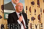 At the launched of John Brassil's campaign for Fianna Fáil TD at a meeting of Members at the White Sands Hotel in Basllyheigue on Thursday