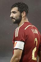 Spain's Raul Albiol during international friendly match.November 18,2014. (ALTERPHOTOS/Acero) /NortePhoto<br /> NortePhoto.com