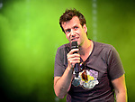 Marcus Brigstocke live at Camp Bestival Lulworth Castle Dorset 2nd Aug 2015