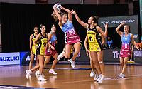 4th July 2020, Auckland, New Zealand;  Kate Heffernan.<br /> Central Pulse versus Southern Steel. ANZ Premiership Netball. Auckland Netball Centre, Saturday 4 July 2020.