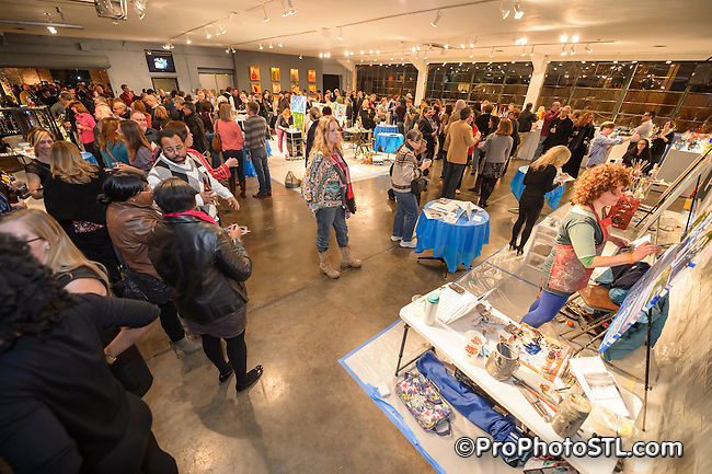Wall Ball 2013 presented by Saint Louis City Open Studio and Gallery at Third Degree Glass Factory in St. Louis, MO on Feb 9, 2013.