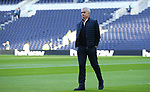 Tottenham's Head Coach Jose Mourinho walks around the pitch ahead of the Premier League match at the Tottenham Hotspur Stadium, London. Picture date: 30th November 2019. Picture credit should read: Paul Terry/Sportimage