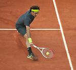Roger Federer (SUI) defeats Nicolas Mahut (FRA) 6-3, 4-6, 6-2, 7-5.