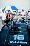 George Follmer in his McLaren M8-FP