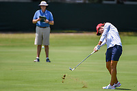 Carlota Ciganda (ESP) hits her approach shot on 4 during round 3 of the 2019 US Women's Open, Charleston Country Club, Charleston, South Carolina,  USA. 6/1/2019.<br /> Picture: Golffile | Ken Murray<br /> <br /> All photo usage must carry mandatory copyright credit (© Golffile | Ken Murray)