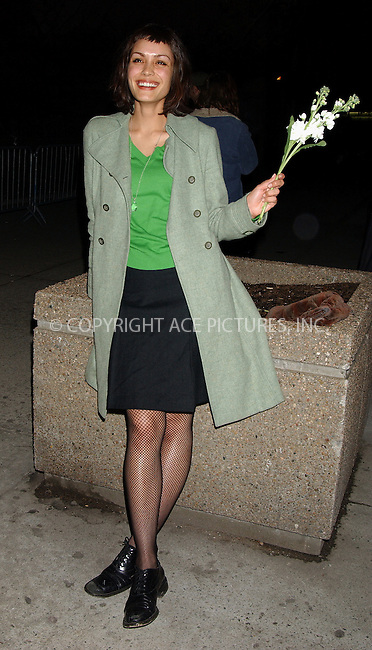 WWW.ACEPIXS.COM . . . . . ....NEW YORK, APRIL 6, 2006....Shannyn Sossamon at the 11th Annual Gen Art Film Festival for 'Wristcutters: A Love Story'.....Please byline: KRISTIN CALLAHAN - ACEPIXS.COM.. . . . . . ..Ace Pictures, Inc:  ..(212) 243-8787 or (646) 679 0430..e-mail: info@acepixs.com..web: http://www.acepixs.com