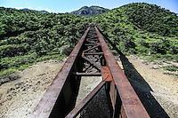 Pilares de Nacozari y las v&iacute;as del tren. <br /> <br /> Madrean Diversity Expeditions con la Comisi&ograve;n Nacional de Areas Naturales Protegidas, CONANP, en la Sierra del Tigre.<br /> Municipio de Nacozari Sonora Mexico.<br /> <br /> CreditoFoto:LuisGutierrez