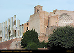 Temple of Venus and Roma Velian Hill Forum Romanum Rome