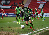 24th March 2018, The Valley, London, England;  English Football League One, Charlton Athletic versus Plymouth Argyle; Gary Sawyer of Plymouth Argyle in defensive action