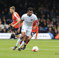 Matt Green of Mansfield Town in action during the Sky Bet League 2 match between Luton Town and Mansfield Town at Kenilworth Road, Luton, England on 22 October 2016. Photo by Liam Smith.