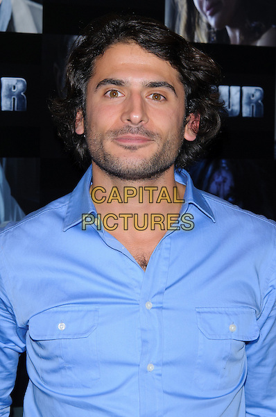 Marc Elliott.UK premiere of 'Four' at The Empire Cinema - Arrivals, London, England..October 10th, 2011.headshot portrait blue suit stubble facial hair .CAP/CJ.©Chris Joseph/Capital Pictures.